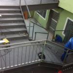 Escada estrutura metálica preço