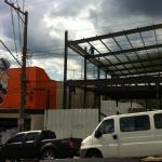Estrutura metálica construção civil