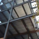 Construção de estruturas metálicas