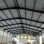 Estrutura e cobertura metálica
